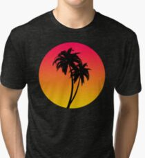 MASTER OF THE MIAMI SUNSET Tri-blend T-Shirt