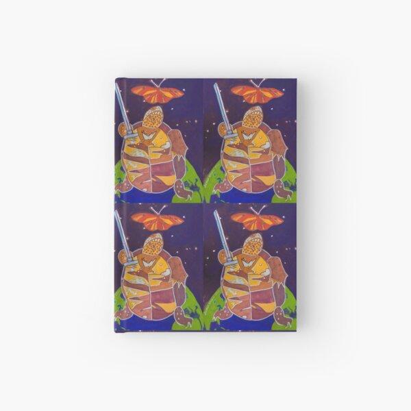 World Turtle King of Swords Hardcover Journal