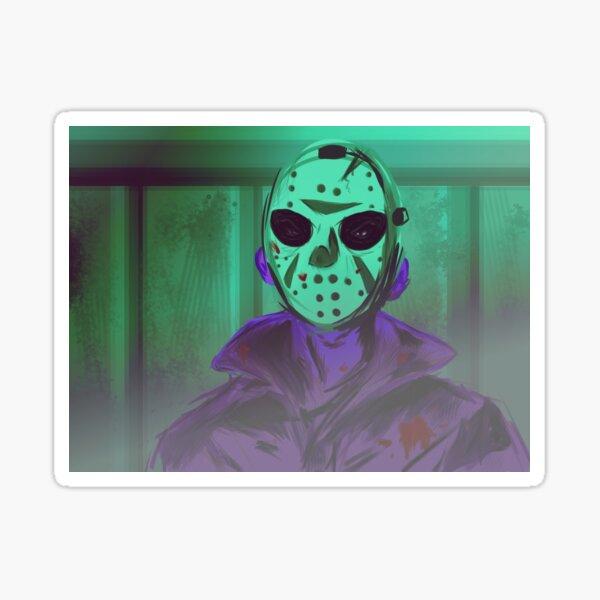 NES Jason Voorhess art Sticker