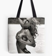 Black & White Beauty Tote Bag