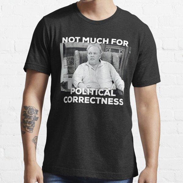Archie Bunker funny Conservative Republican graphic design  Essential T-Shirt