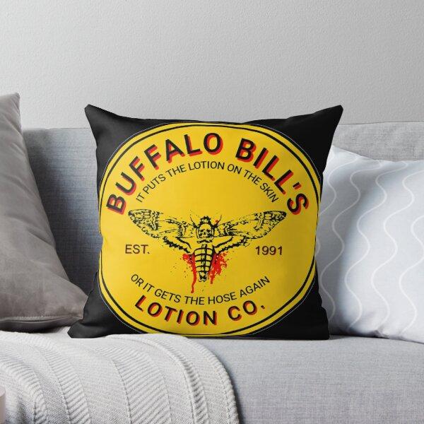 Buffalo Bill's Lotion Co. Throw Pillow