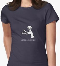 Grr. Argh. Womens Fitted T-Shirt