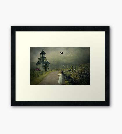Come with Me.. Framed Print