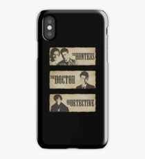 The Hunters, The Doctor and The Detective  iPhone Case/Skin