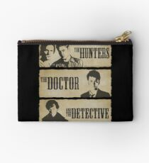 The Hunters, The Doctor and The Detective  Studio Pouch