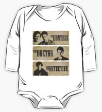 The Hunters, The Doctor and The Detective  Kids Clothes
