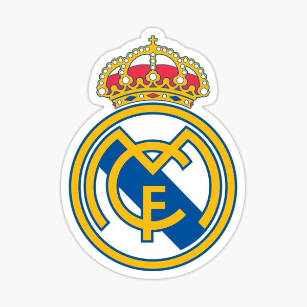 Real Madrid Badge Sticker