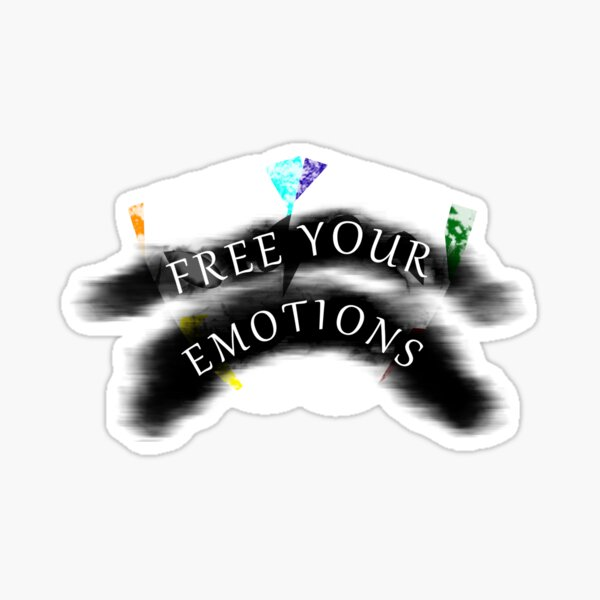 Free your Emotions Sticker