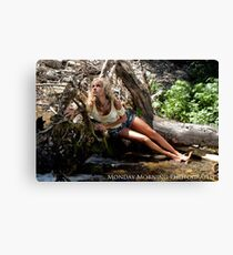 Beached Blond Canvas Print