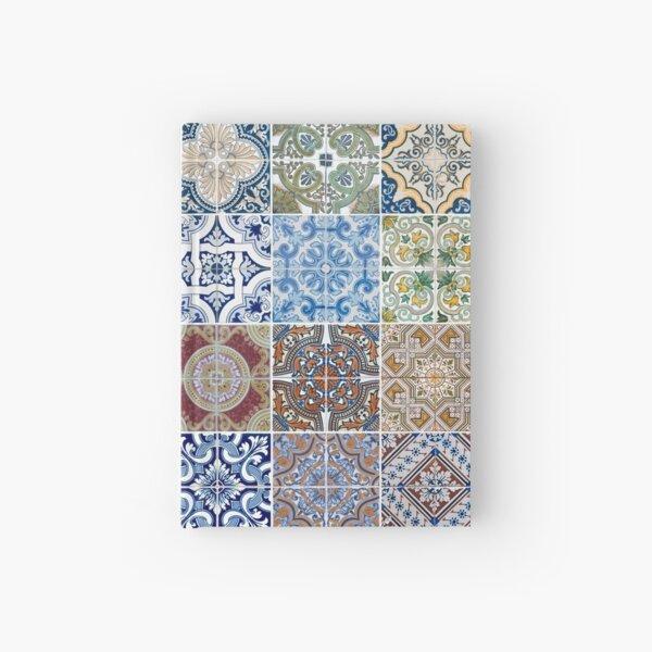 Set of 48 ceramic tiles patterns Hardcover Journal