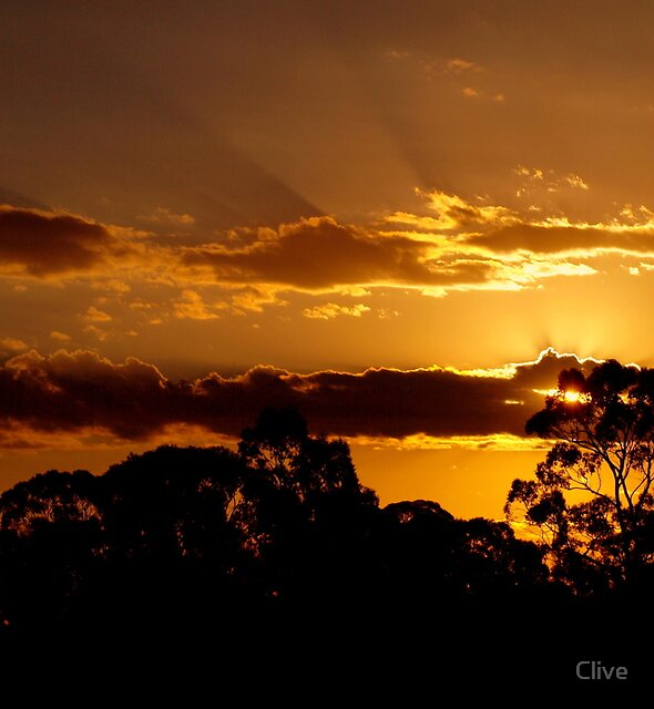 End Of A Hot Day by Clive