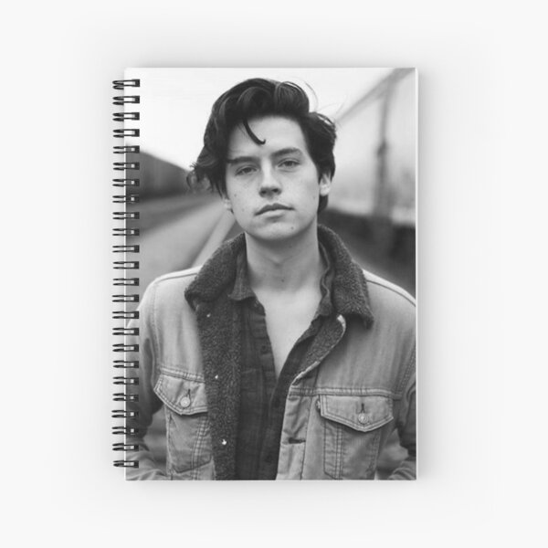 COLE SPROUSE BLACK AND WHITE Spiral Notebook