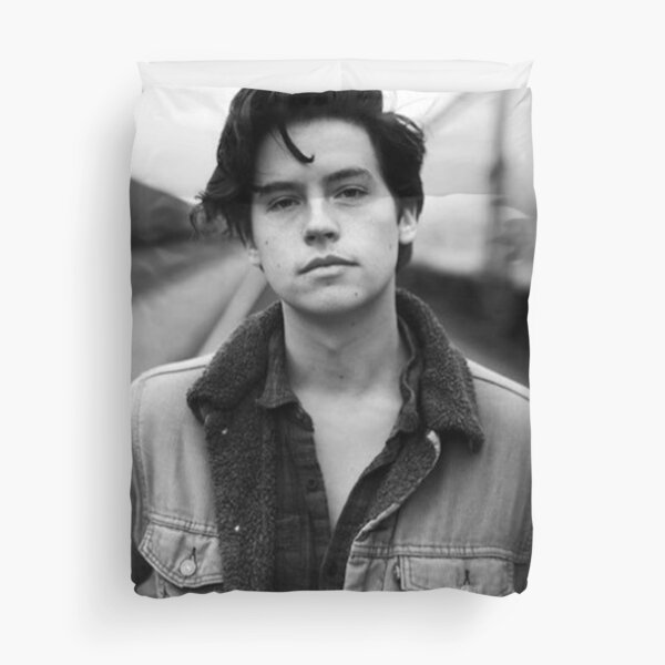 COLE SPROUSE BLACK AND WHITE Duvet Cover