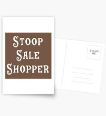 Brooklyn Gift - Stoop Sale Shopper Postcards
