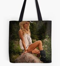 Black Hat Boogie Tote Bag