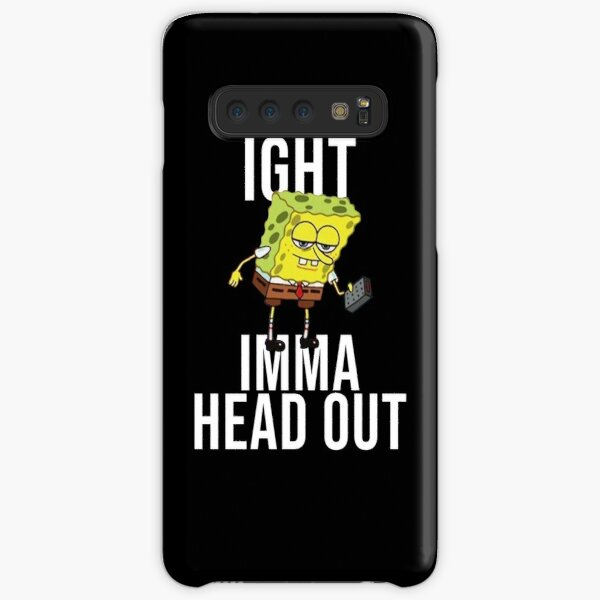 Spongebob Meme: Ight Imma Head Out Samsung Galaxy Snap Case