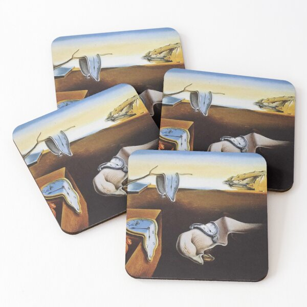 THE PERSISTENCE OF MEMORY - SALVADOR DALI  Coasters (Set of 4)