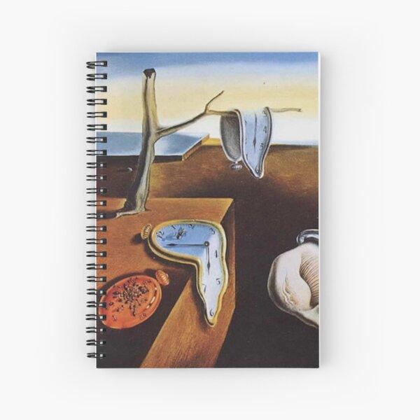LA PERSISTENCIA DE LA MEMORIA - SALVADOR DALI Cuaderno de espiral