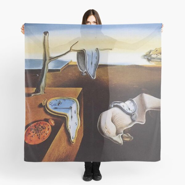 THE PERSISTENCE OF MEMORY - SALVADOR DALI  Scarf