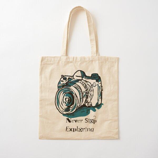 Camera  Cotton Tote Bag
