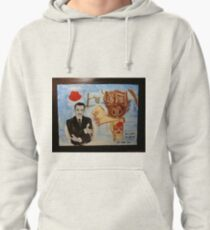 Homage to Dali Pullover Hoodie
