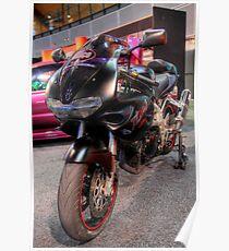 Streetstyle Motorbike Poster