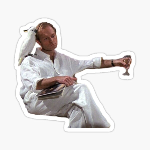 Sad Niles Sticker