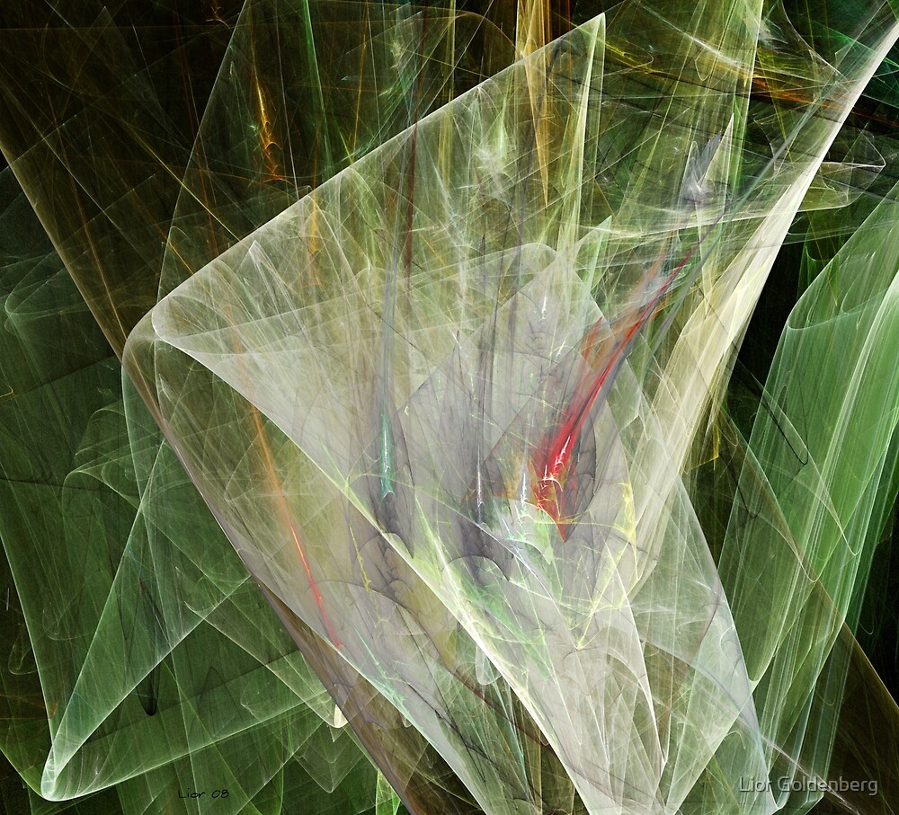 Fractal flower by Lior Goldenberg
