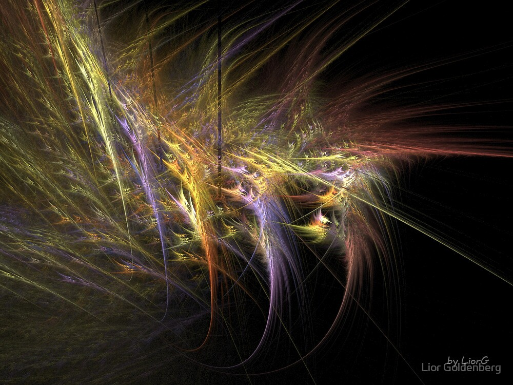Fractal feathers by Lior Goldenberg