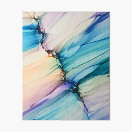 Dragonfly Waterfalls Art Board Print