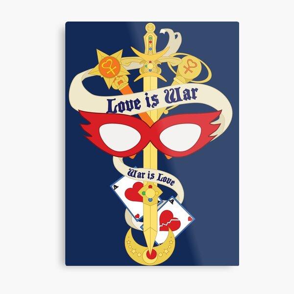 Sailor Venus Banner Metal Print