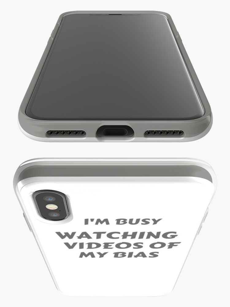 "Alternate view of ""I'm Busy"" Bias T-shirt iPhone Case & Cover"