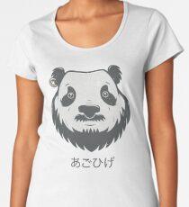 Panda Bear(d) Premium Scoop T-Shirt