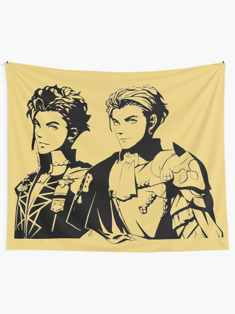 Fire Emblem Three Houses Claude von Tapestry Art Wall Hanging Cover Home Decor