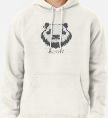 Panda Bear(d) Pullover Hoodie