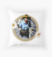 The Cowboy For Love Throw Pillow