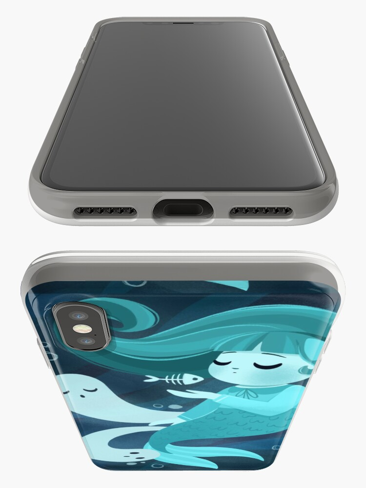 Alternate view of Ghost Mermaid iPhone Case & Cover