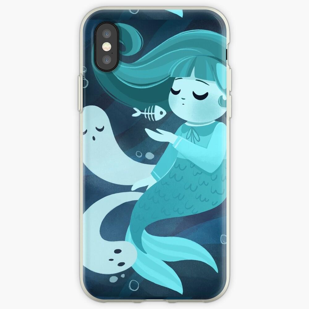 Ghost Mermaid iPhone Case & Cover