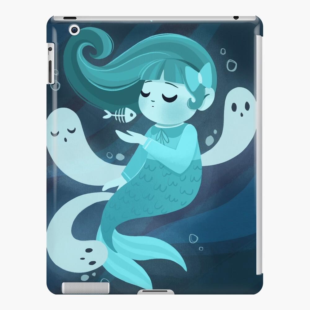 Ghost Mermaid iPad Case & Skin