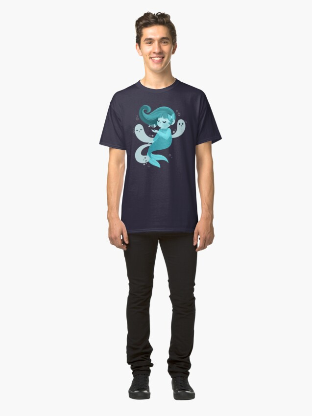 Alternate view of Ghost Mermaid Classic T-Shirt