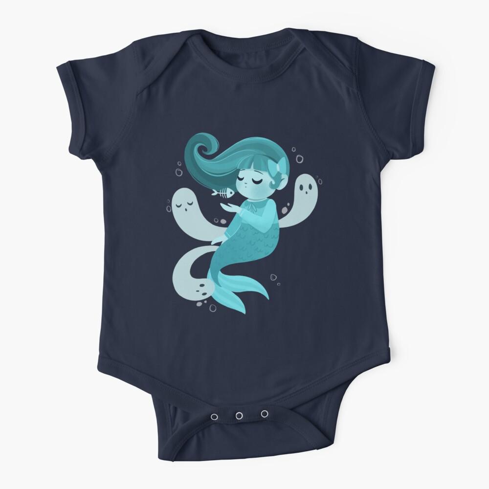 Ghost Mermaid Baby One-Piece
