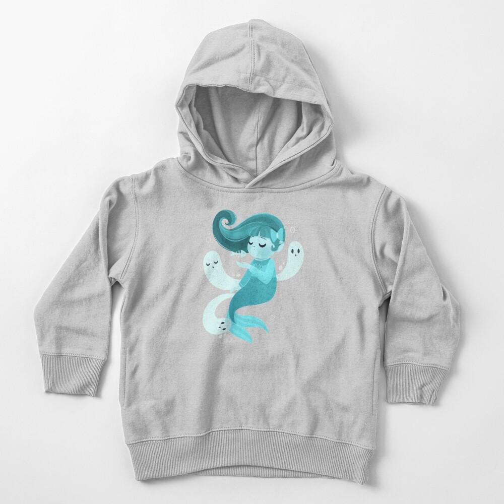 Ghost Mermaid Toddler Pullover Hoodie
