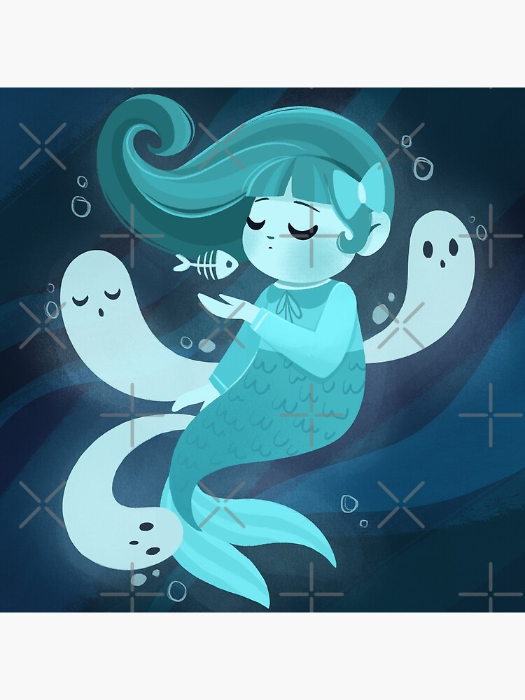Ghost Mermaid by lobomaravilha