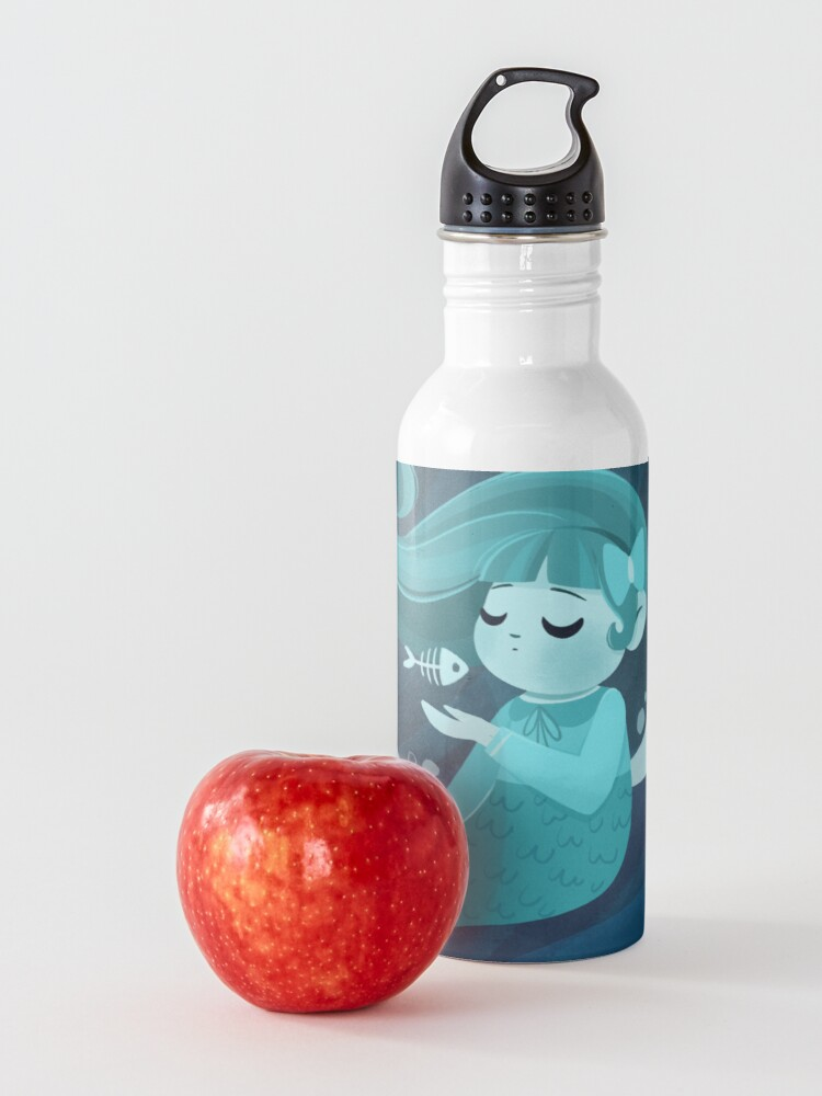 Alternate view of Ghost Mermaid Water Bottle