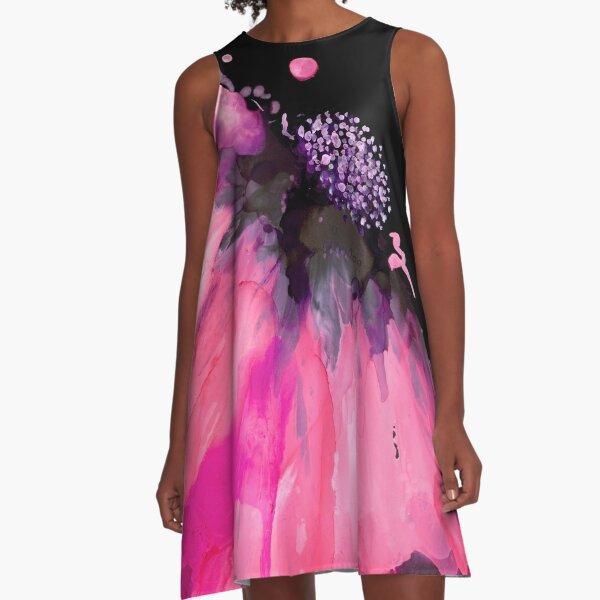 Pretty in Pink A-Line Dress