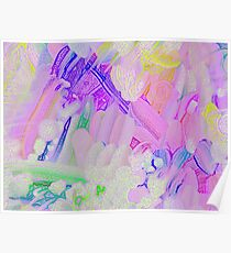 Brighter Days Abstract Poster