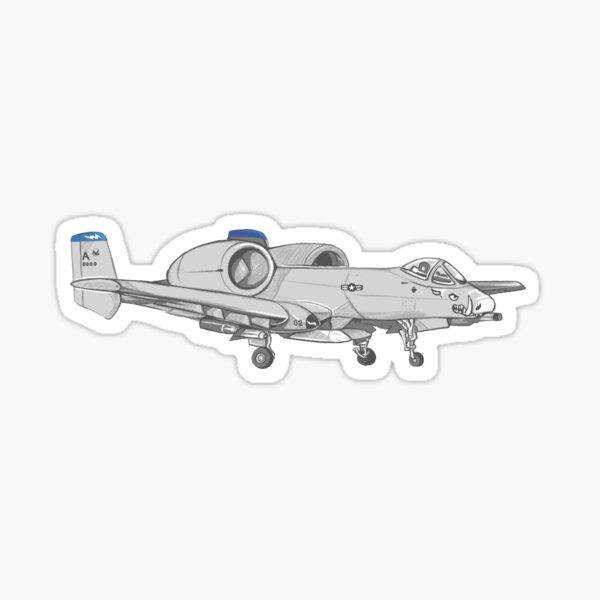A-10 Warthog Sticker