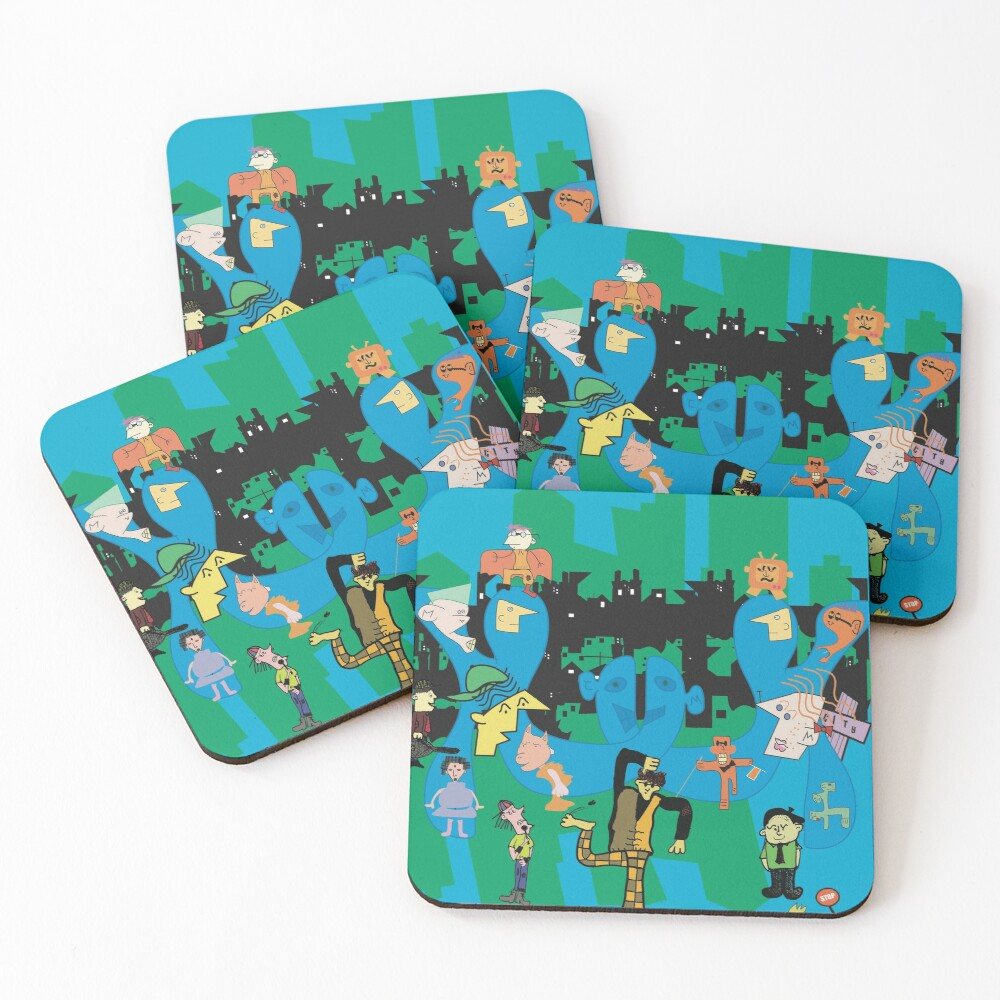 Live the Fringe  Coasters (Set of 4)