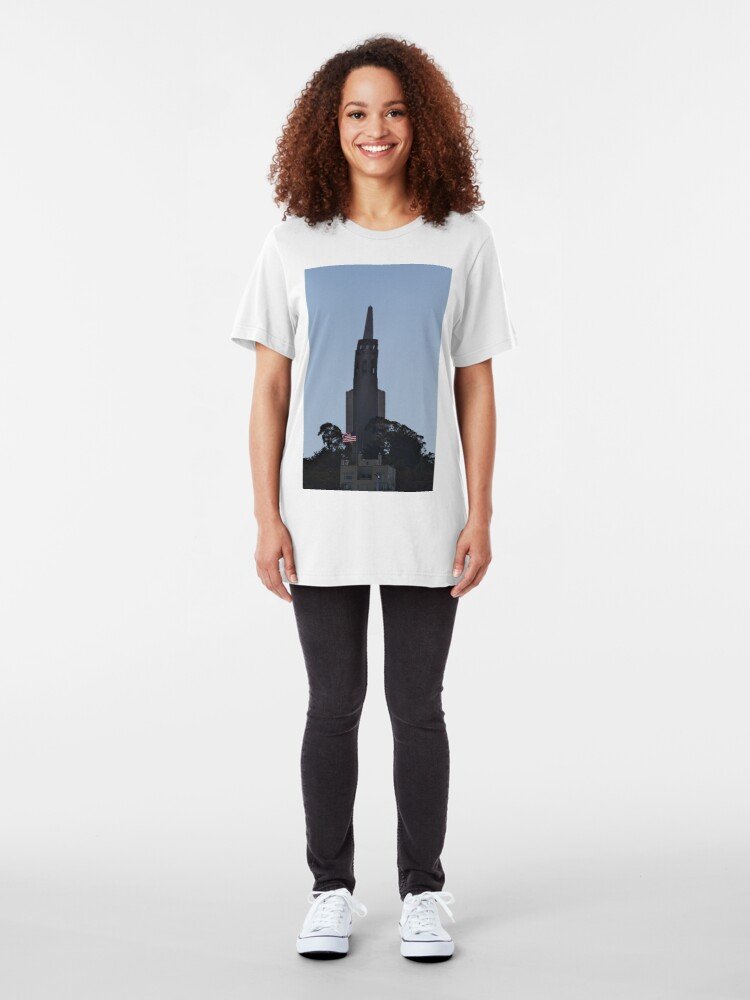 Alternate view of My San Francisco Version of a Rocket Slim Fit T-Shirt